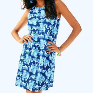 NEW Lilly Pulitzer Kristen Dress Joy Ride Elephant